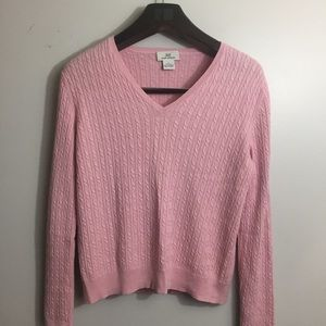 346 Brook Brothers V-Neck Sweater. Large